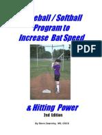Increasing Bat Speed