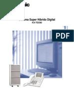 KX-TD500 Sistema Super Hibrido Digital Folleto