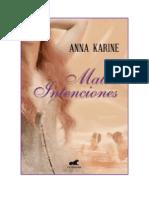 Anna Karine - Malas Intenciones