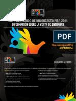 FIBA 2014 CALENDARIO MUNDIAL