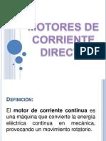 Caracteristicas y aplicaciones Motores DC´
