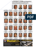 Most Wanted Property Crime Offenders March 2014