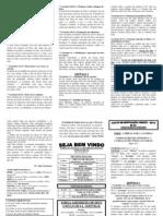 01 SÉRIE - A BÍBLIA PARA A FAMÍLIA 2014 - Comentário de Gênesis Nº 01 Capítulos 1 e 2