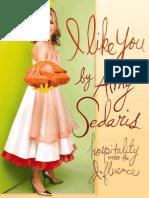 Amy Sedaris I Like You- Hospitality Under the Influence 2008