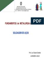 Metalurgia da Soldagem de Aços - UFOP-ABM-PUC MG - Parte II