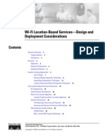 Wi-Fi Location-Based Services—Design and Deployment Considerations