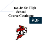 khs course offering guide 2012-2013