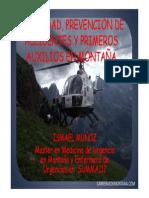 TRAIL RUNNING Y SEGURIDAD EN MONTAÑA, POR ISMA MUÑOZ