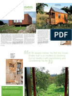 Sanctuary magazine issue 9 - Small Houses - green home feature article