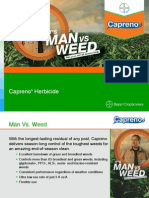 2014 Capreno® Postemergence Corn Herbicide Presentation