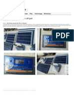 Instructables.com - DIY Solar Panels for RV or Off Grid