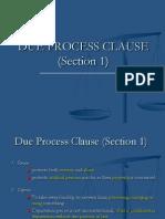 Art III Sec 1 Reviewer Due Process