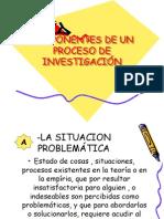 COMPONENTES DE UN PROCESO DE INVESTIGACIÓN