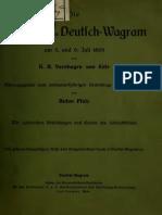 Ense, Varnhagen von - Die Schlacht von Deutsch-Wagram (1908)