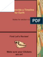 rocks provide a timeline for earth notes 4 2 for website