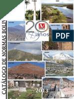 Ibnorca Catalogo de Normas 2013_septiembre