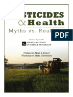 Pesticides and Health Myth vs Realities