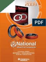 Catalogo Retenes National 2009