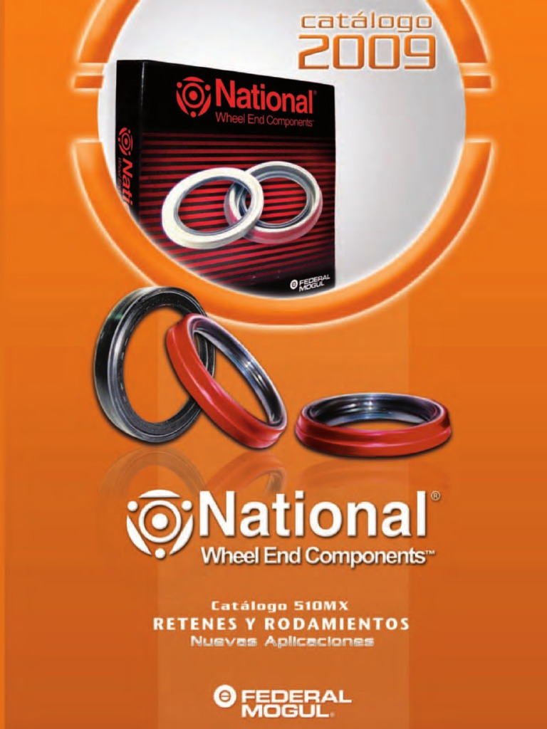 Catalogo Retenes National 2009