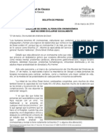 20/03/14 SÍNDROME DE DOWN, ALTERACIÓN CROMOSÓMICA QUE NO DEBE EXCLUIRSE SOCIALMENTE