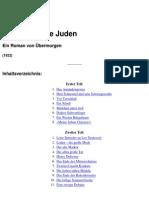 Bettauer, Hugo - Die Stadt ohne Juden - Ein Roman von Übermorgen (1922)
