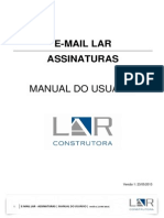 Manual Assinatura Email LAR