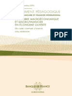 Documents Pedagogiques n4 Equilibre Macroeconomique Et Macrofinancier