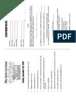 Volleyball Registration Form