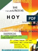Recursos Tecnológicos-presentación -mar 2014