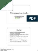 Asti II Apoio1 Elementos de Manutencao