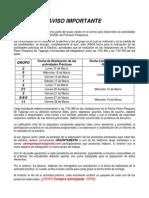 AVISO Electivas 2014