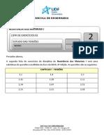 ResMat I Lista 02 2014 1