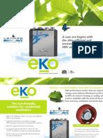 Venmar Eko-1.5 HRV Air Exchanger Brochure