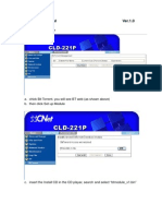 CNet CLD-221P BT User Guide