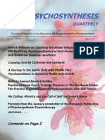 Psychosynthesis Quarterly March 2013