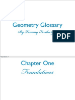 tommy geometry glossary