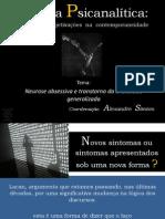 Clínica Psicanalítica Manejo  e  Subjetivações  na  Contemporaneidade