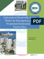 Guía lDesarrollo Plan de Emergencia Condominio PuertoRico