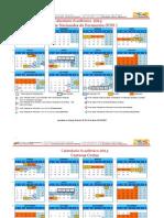 Calendarios PNF Y Carreras Cortas 2014. Aprobado