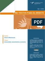 Universidad, conocimiento y economía ArturoVillavicencio [PRE-TEXTOS_1].pdf