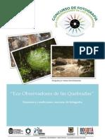 Concurso de fotografía 'Eco-Observadores de las Quebradas'-convocatoria Términos y Condiciones