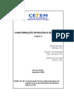 CARACTERIZAÇÃO TECNOLÓGICA DE MINÉRIOS. cap 3