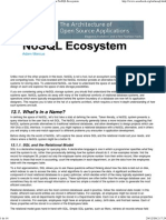 The Architecture of Open Source Applications_ the NoSQL Ecosystem