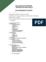 FACULDADE SANTA BÁRBARA D'OESTE