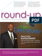 Affiliated Dermatology featured in Round-Up Magazine