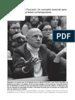 Biopolítica de Foucault