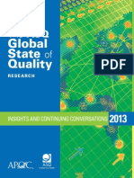 ASQ Global State of Quality 2013