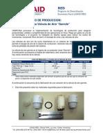 USAID RED Produccion Riego Valvula Aire Garrote Fabricacion 11 05