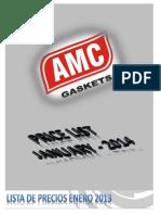 Lista de Precios Amc 01-2014