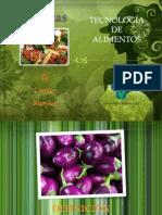 Tecnologia de Alimentos Hortalizas